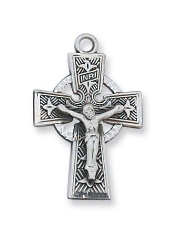 Elegant Celtic Crucifix Necklace