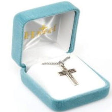 Load image into Gallery viewer, Loop End Decor Crucifix Necklace