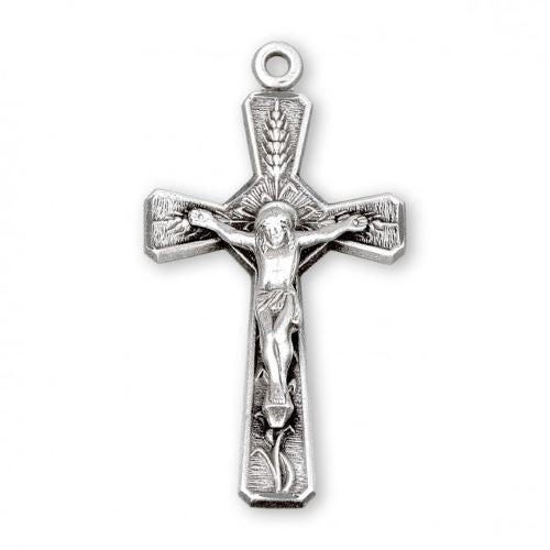 Holy Eucharist Crucifix Necklace