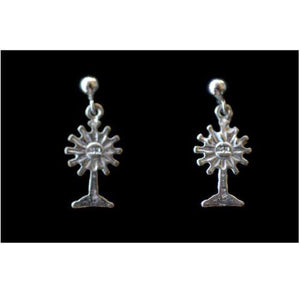 Earrings Sterling Silver Monstrance