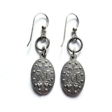 Load image into Gallery viewer, Miraculous Medal Earrings