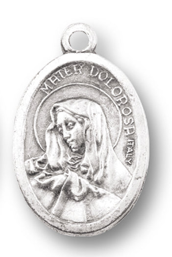 OUR LADY OF SORROWS - ECCE HOMO - OXIDIZED