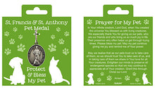 Load image into Gallery viewer, PET MEDAL - STS FRANCIS & ANTHONY - 1.25""