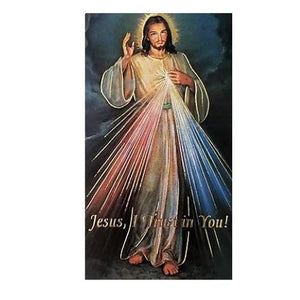 Divine Mercy Icon with Holy Card