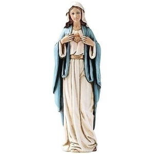 "Immaculate Heart Statue - 6"" H"