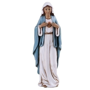 "Immaculate Heart Statue - 4""H - Renaissance Collection"