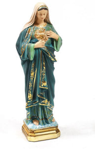 Immaculate Heart of Mary Statue, 16""