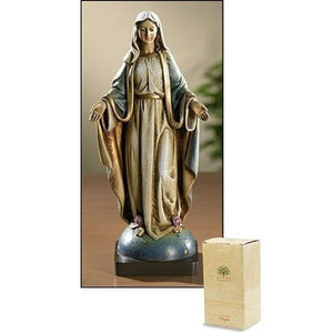 "Our Lady of Grace Statue - 8.5"" H"