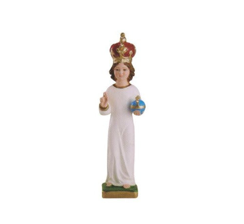 Infant of Prague Statue with Crown, 12
