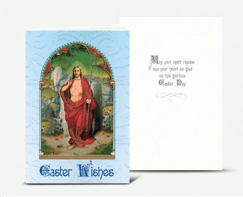 Greeting Card - Easter Wishes - Resurrection of Jesus