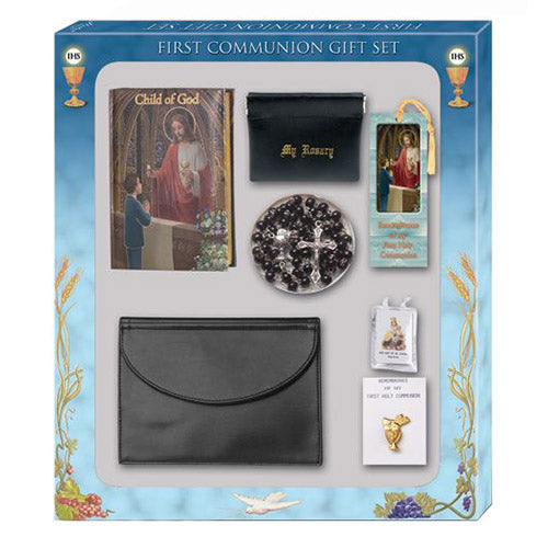 Deluxe First Communion 7 Piece Gift Set