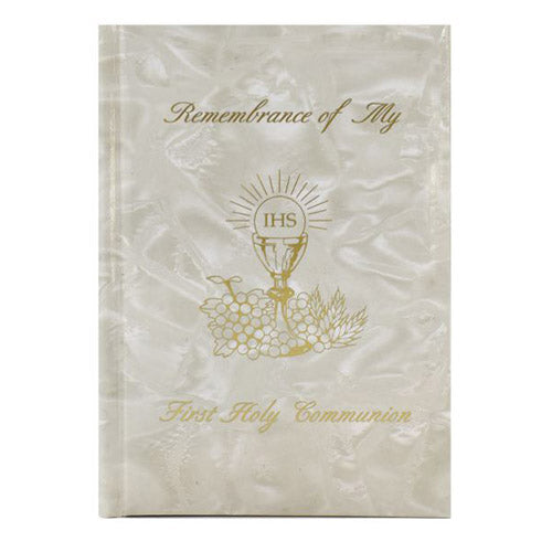 Pearlised First Holy Communion Missal
