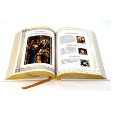 Load image into Gallery viewer, Douay Rheims Bible - White and Gold Cover