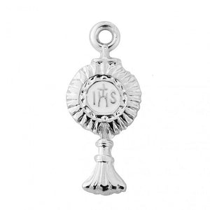 Sterling Silver Monstrance Necklace