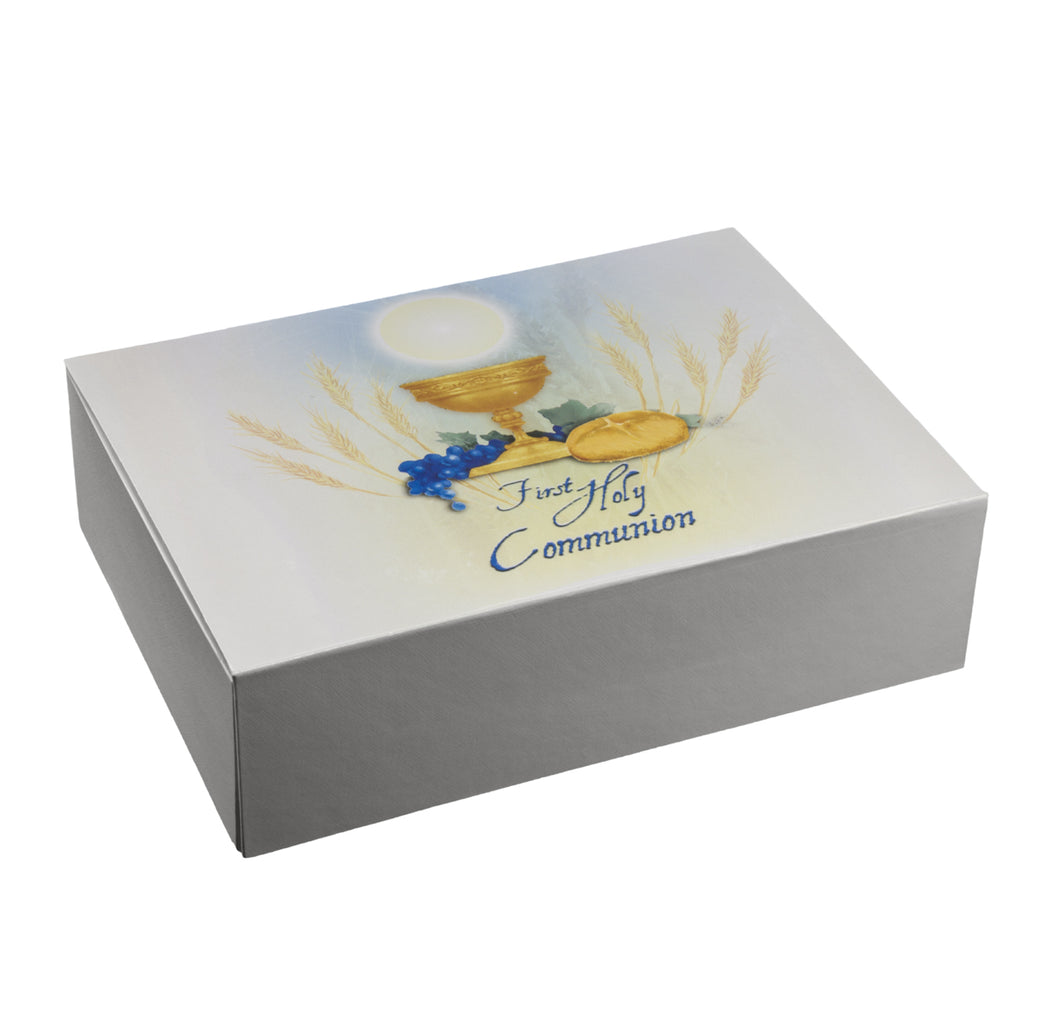 Keepsake Box-White - 8 X6