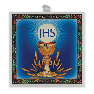 "Communion Italian Ceramic Tile, 4""x4"""