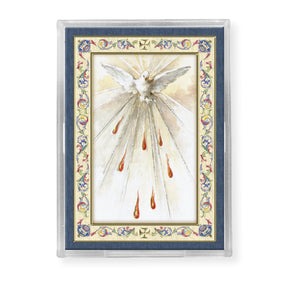 MAGNET - HOLY SPIRIT -  GOLD STAMPED - EASEL