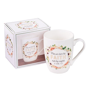 Live By Faith Mug
