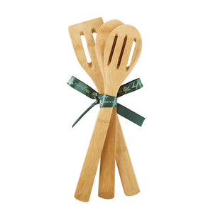 Love, Blessings and Joy Bamboo Wooden Spoon Set