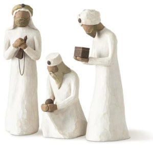 THREE WISE MEN - WILLOW TREE NATIVITY