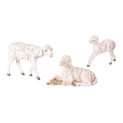 SHEEP FAMILY - WHITE 3 PCS - 5