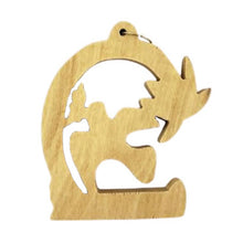 "Load image into Gallery viewer, ORNAMENT - OLIVEWOOD 3"" CUTOUT"