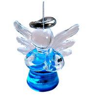 Load image into Gallery viewer, GLASS ANGEL ORNAMENT-VARIOUS COLORS