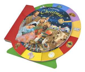 CELEBRATING CHRISTMAS - TOUCH AND FEEL BOARD BOOK