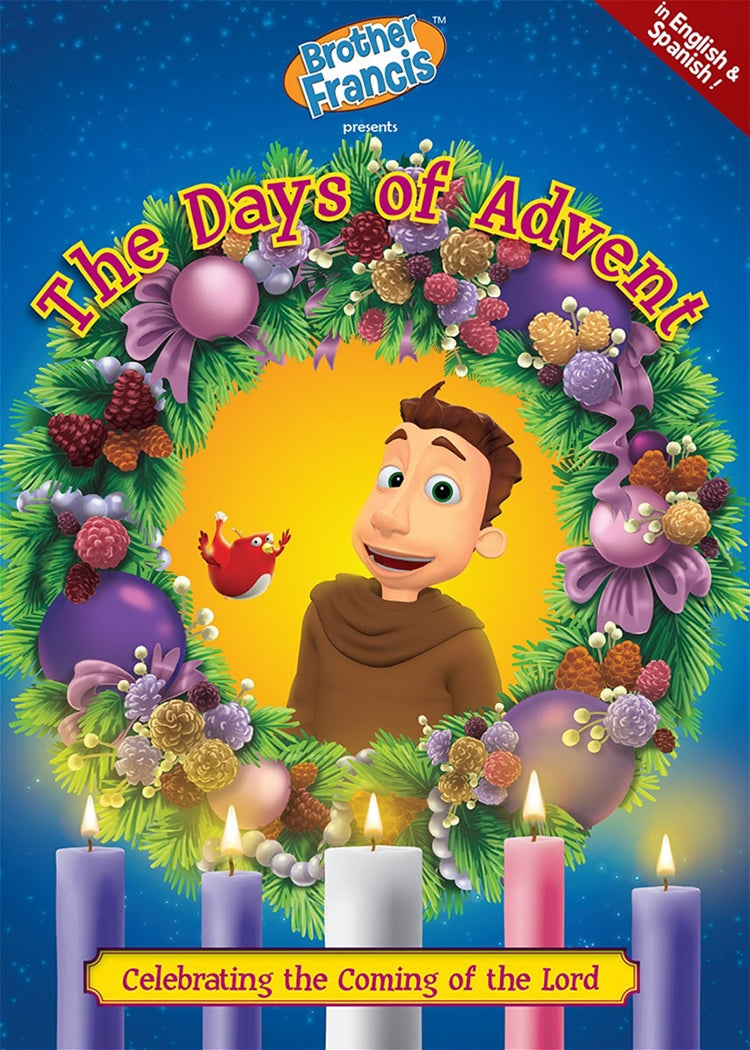 BROTHER FRANCIS:  THE DAYS OF ADVENT - DVD