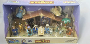 TALES OF GLORY NATIVITY SET - TALKING MARY FIGURE