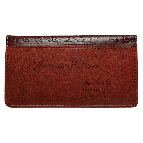 'Amazing Grace' Checkbook Cover
