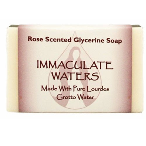 Lourdes Water Bar Soap - Rose Scented