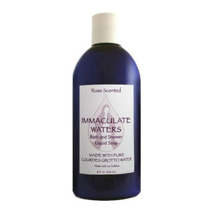 Lourdes Water Liquid Soap - Rose Scented