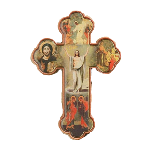 RISEN CHRIST CROSS 3