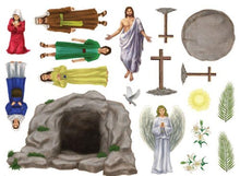 Load image into Gallery viewer, Easter Story Magnet Set - 18 Pieces