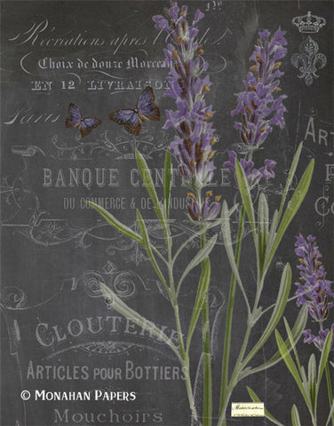 monahan paper bot206 lavender on black
