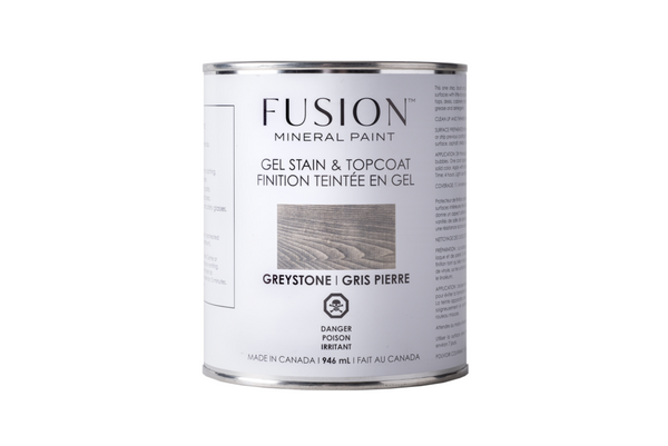 Fusion Gel Stain and Topcoat 31.9 oz.