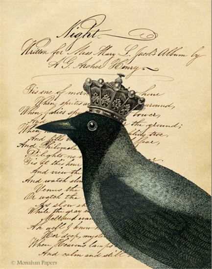monahan paper H33bb Night Crow