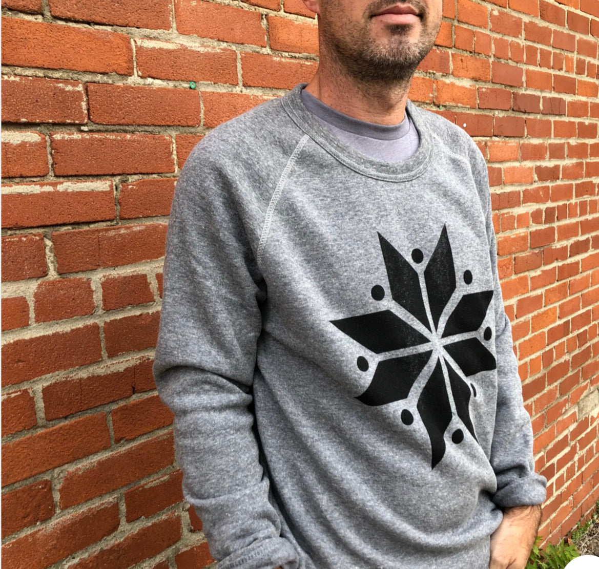 Lake Effect Snowflake Sweatshirt