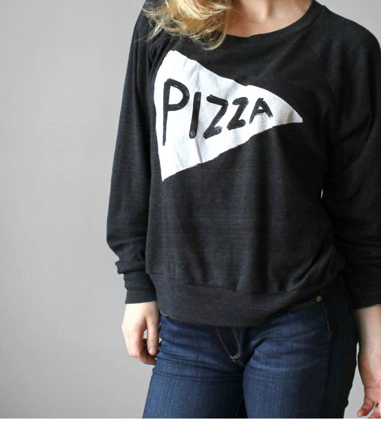 Pizza Sweatshirt Top