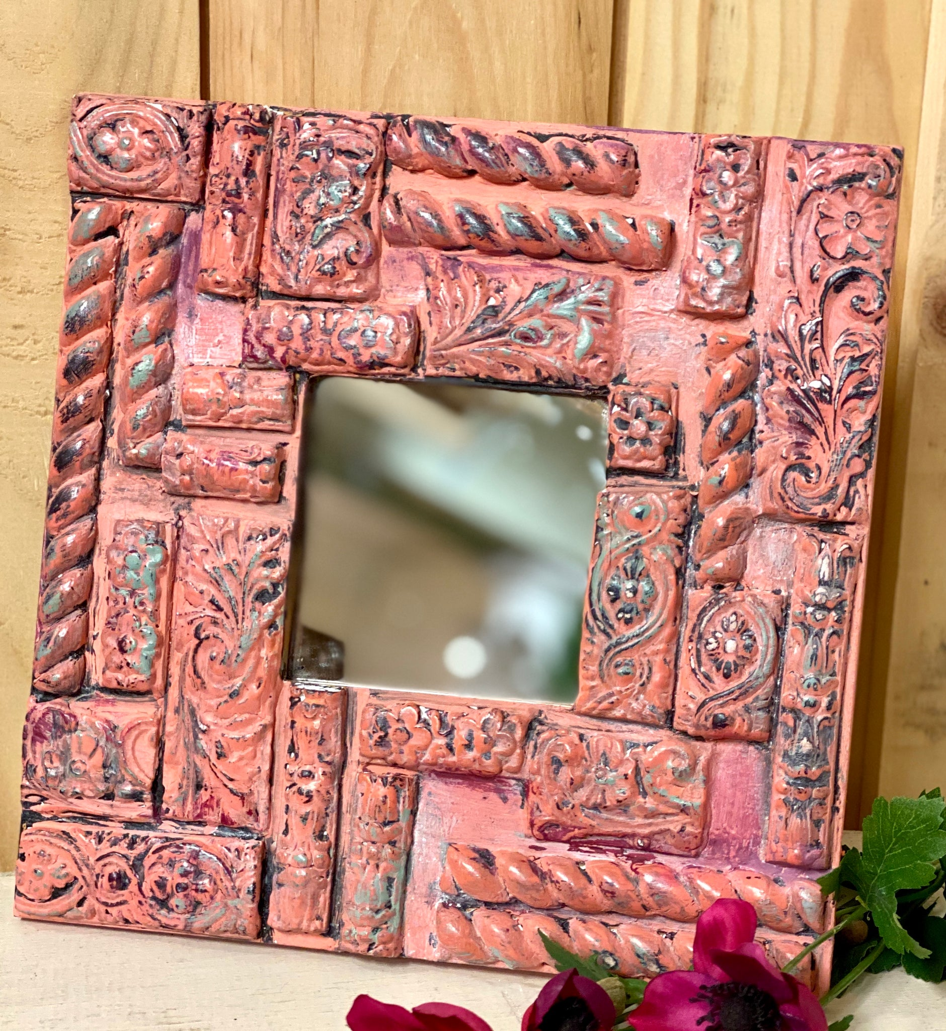 DIY boho fragment mirror kit