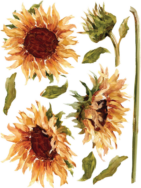 NEW Painterly Florals Transfer (AVAILABLE FOR PURCHASE 10/6)