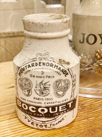 Antique French  Moutard Jar