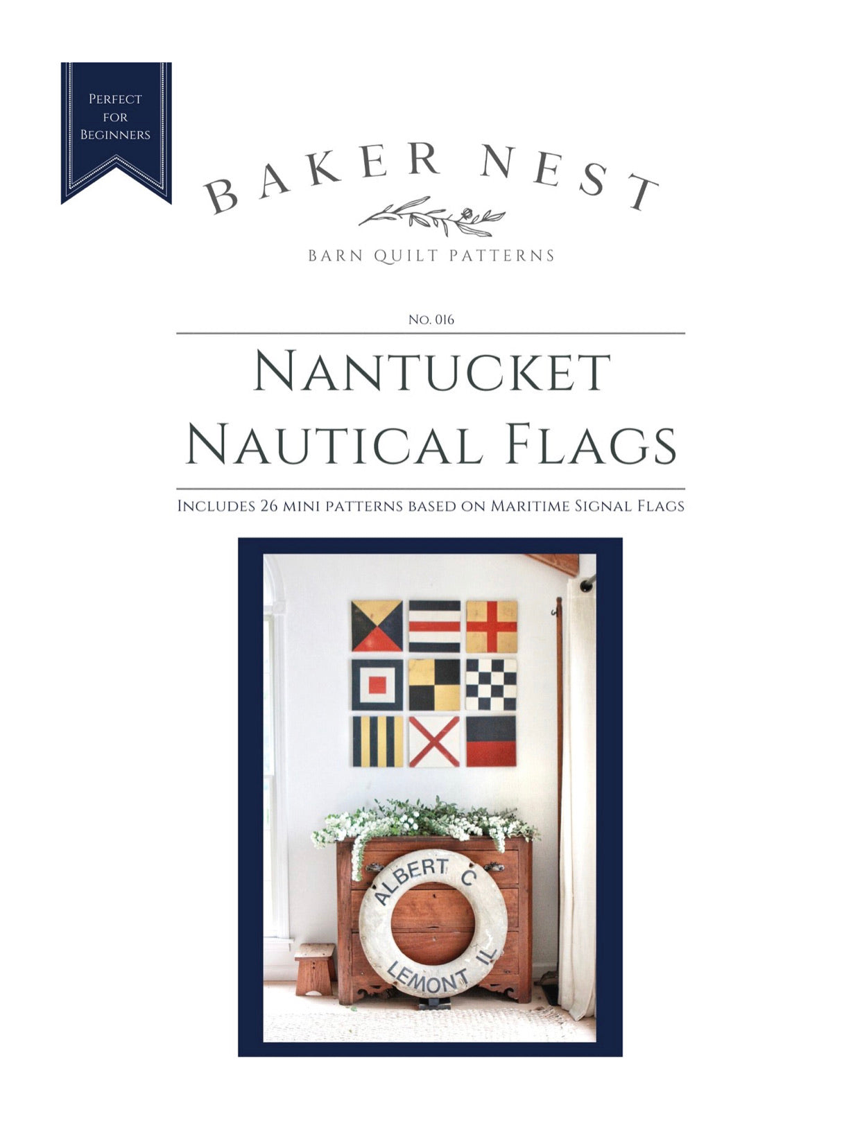 nantucket nautical flags