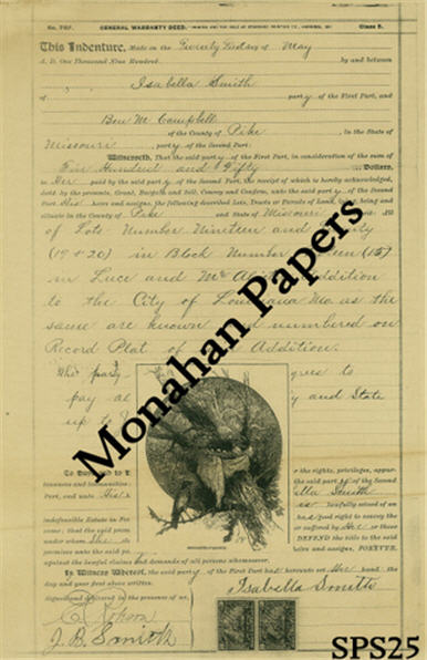 monahan papers ss-ps25b Isabella's Nest