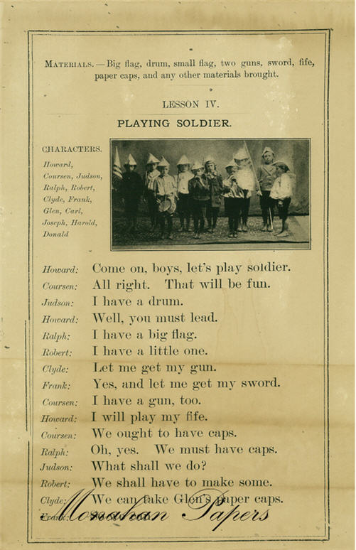 monahan paper sps121 playing soldier