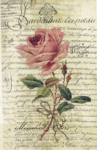 monahan paper sps358large single pink rose
