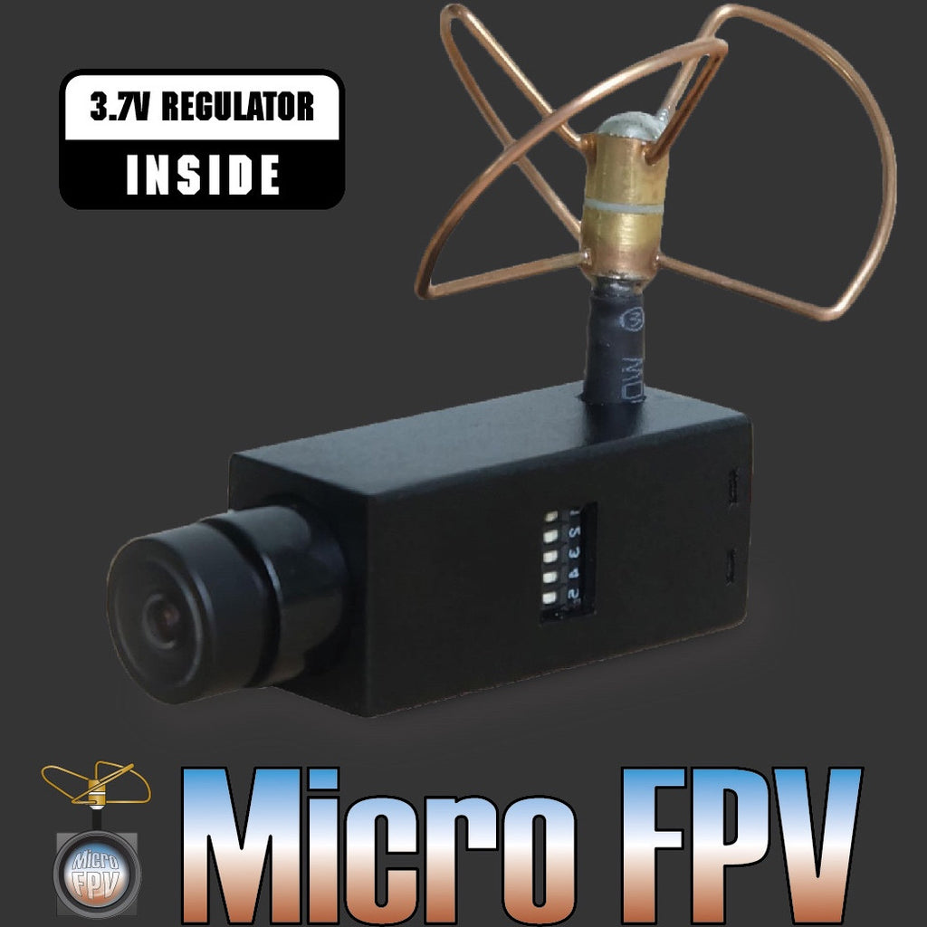 microFPV all-in-one cam/vTx