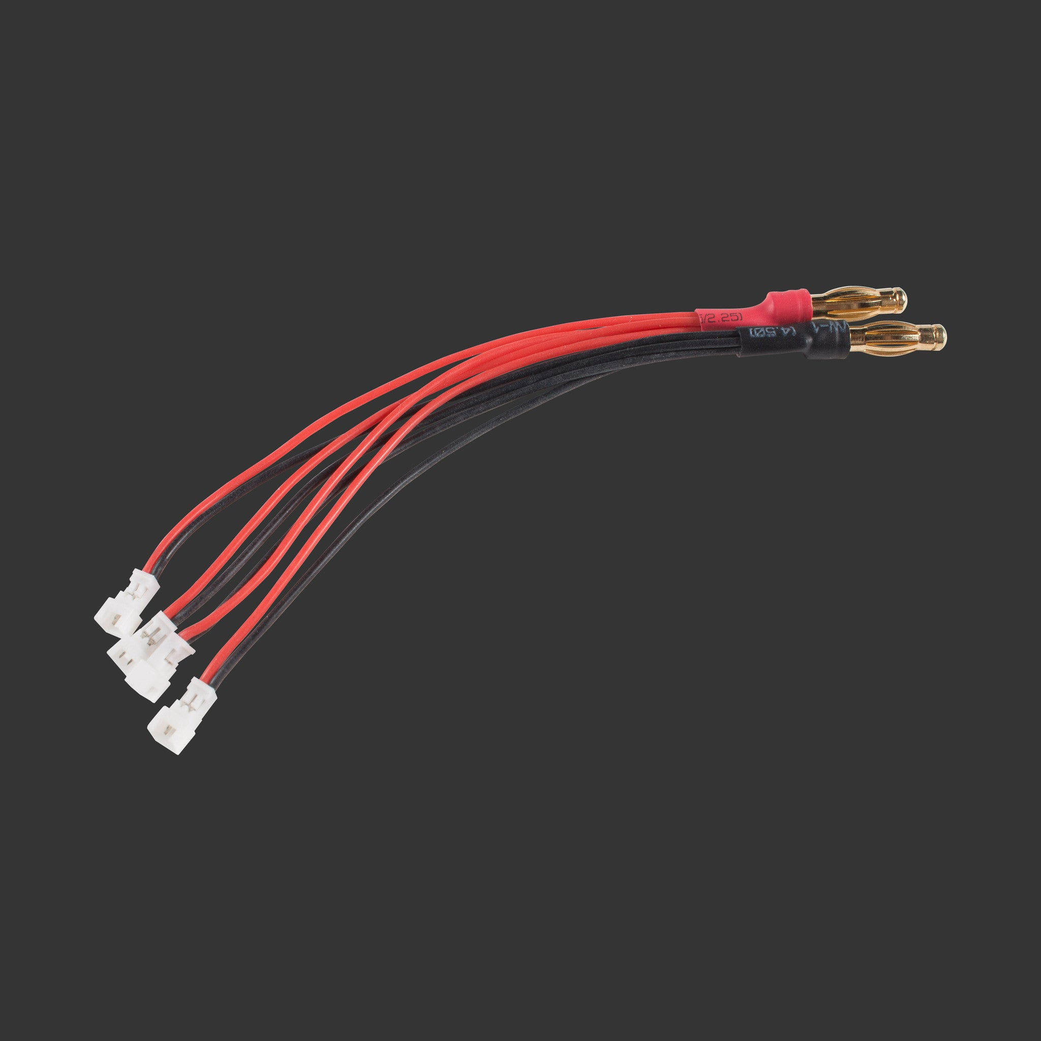 4-way parallel charge cable - Micro-JST-1.25
