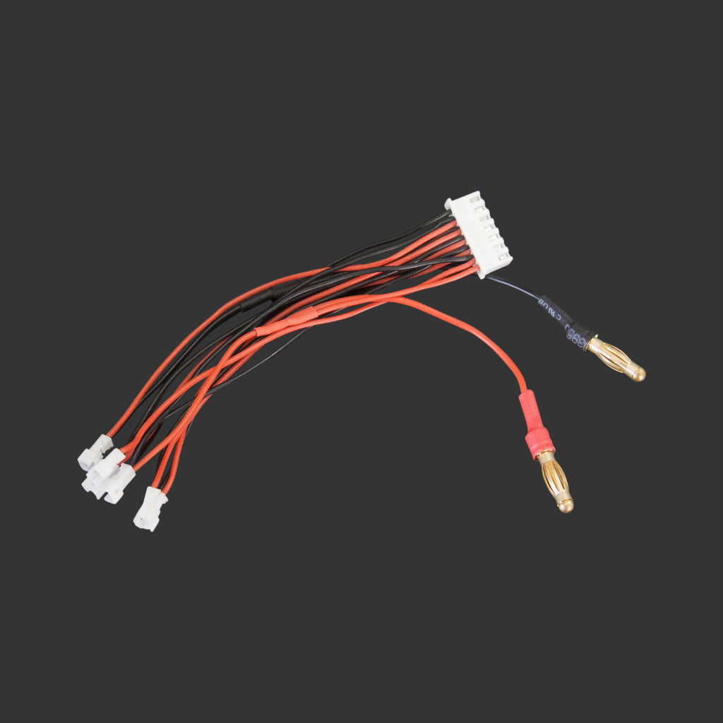 6-way serial charge cable - Micro-JST-1.25